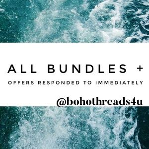 ALL OFFERS & BUNDLES WILL BE RESPONDED TO ASAP